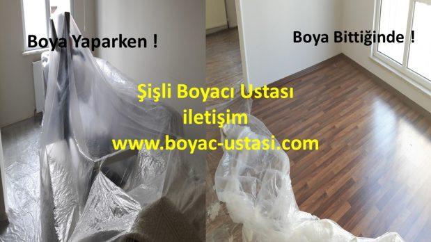 İstanbul Şişli Boyacı Boya Badana Ustası