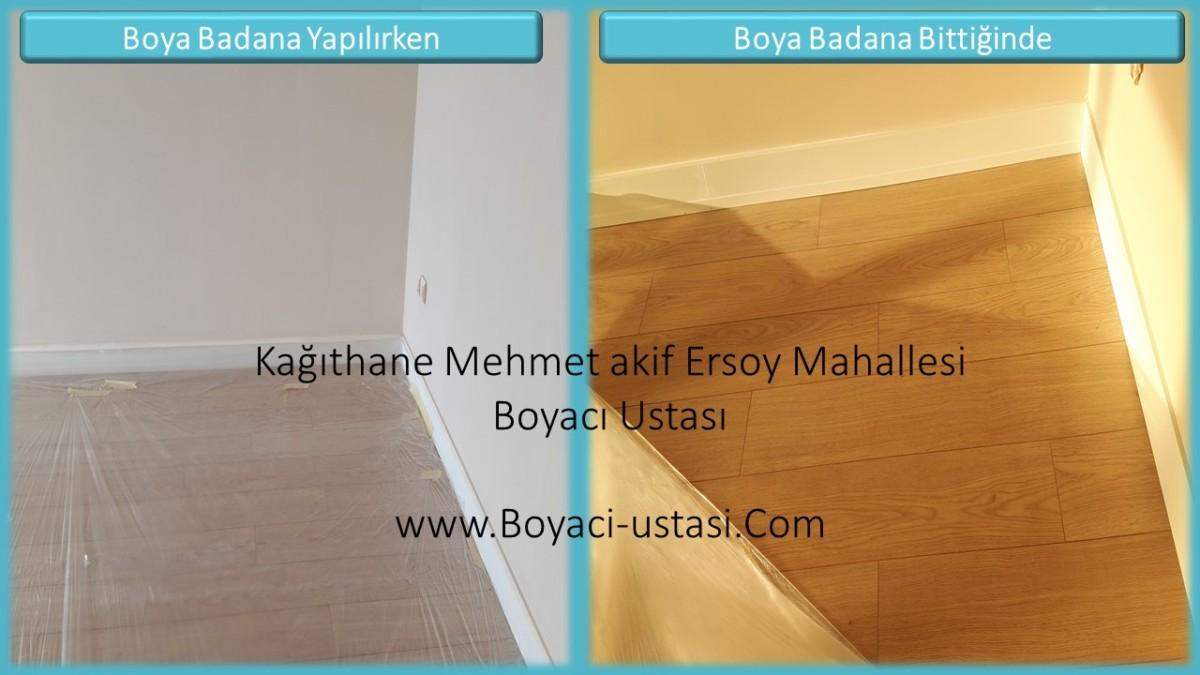 0535 830 08 45 Kagithane Mehmet Akif Ersoy Mahallesi Boyaci